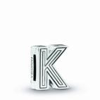 "Charm Reflexion Lettre ""K"""