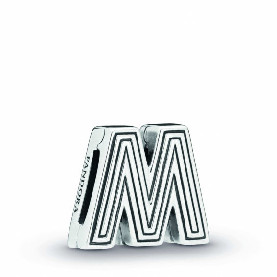 "Charm Reflexion Lettre ""M"""