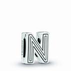 "Charm Reflexion Lettre ""N"""