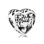 Charm Coeur I Love You Mom