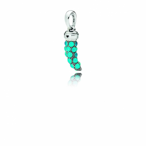 Charm Pendentif Amulette Turquoise