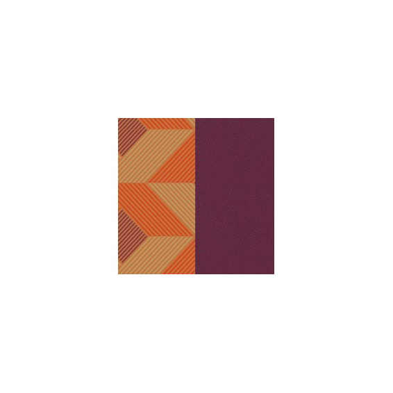 Cuir pour Manchette Rythme / Violet 14 mm