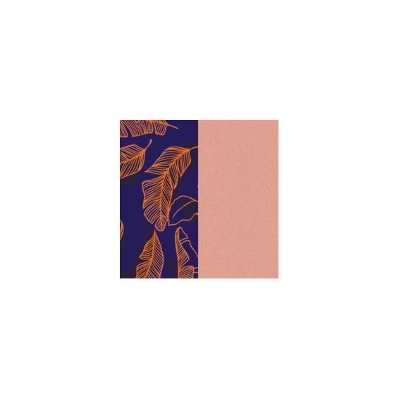 Cuir pour Manchette Plumage / Rose Clair 25 mm