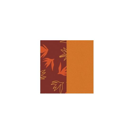 Cuir pour Manchette Dandelion / Abricot 25 mm