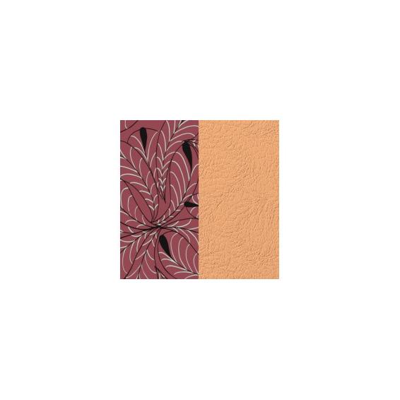 Cuir pour Manchette Pétales / Rose Sirène 14 mm