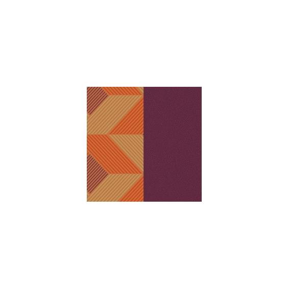 Cuir pour Manchette Rythme / Violet 25 mm