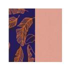 Cuir pour Manchette Plumage / Rose Clair 14 mm
