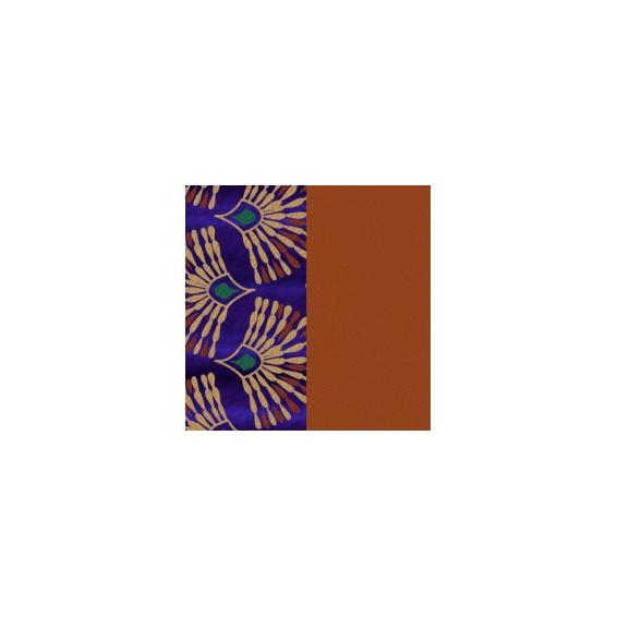 Cuir pour Manchette Paon / Cognac 14 mm