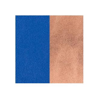 Cuir pour Manchette Bleu Outremer / Rose Sirène 8 mm