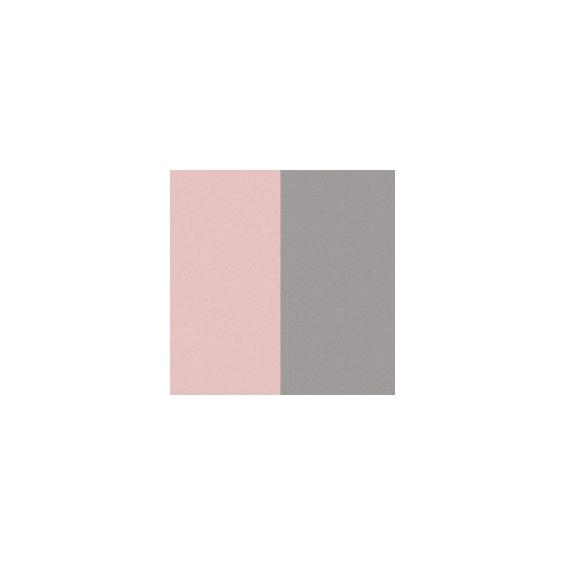 Cuirs pour Boucles d'Oreilles Rose Clair / Gris Clair 43 mm