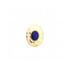 Clip Couture Lapis Lazuli Finition Dorée