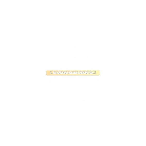 Boucle de Ceinture Finition Dorée Papyrus 14 mm