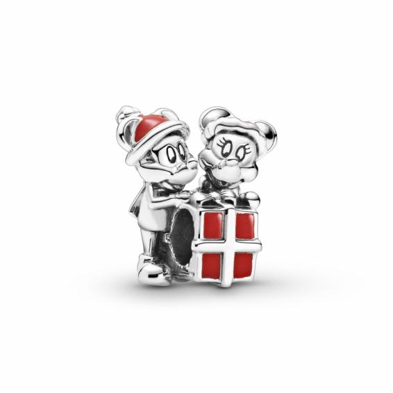 Charm Disney Cadeau de Mickey et Minnie