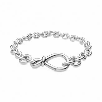 Bracelet Chaine Noeud Infini