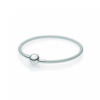 Bracelet en Maille Tissée