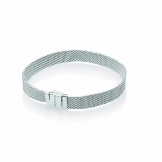 Bracelet Reflexion Maille Milanaise