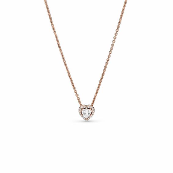 Collier Coeur Scintillant