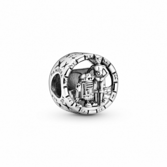 Charm Star Wars Logo BB-8 C-3PO